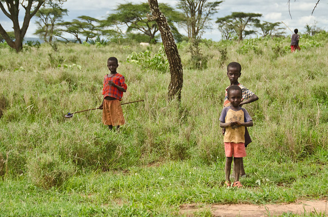 Children of the Maasai