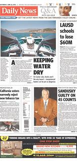 Sandusky front page