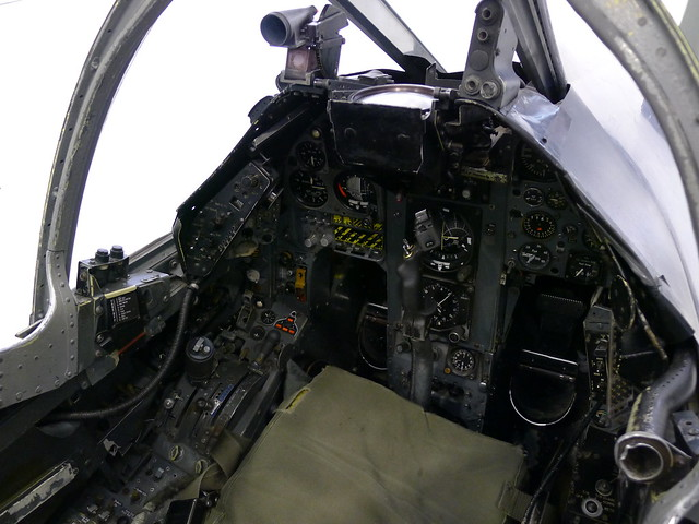 Cockpit: AV-8A Harrier