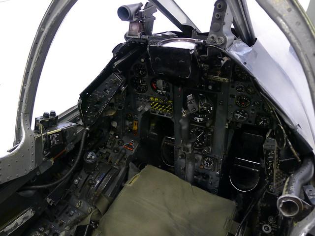 Cockpit: AV-8A Harrier