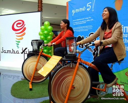 Jamba Juice Blender Bike