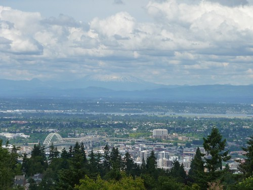 View from Council Crest
