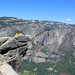 View of Yosemite Falls from Glacier Point