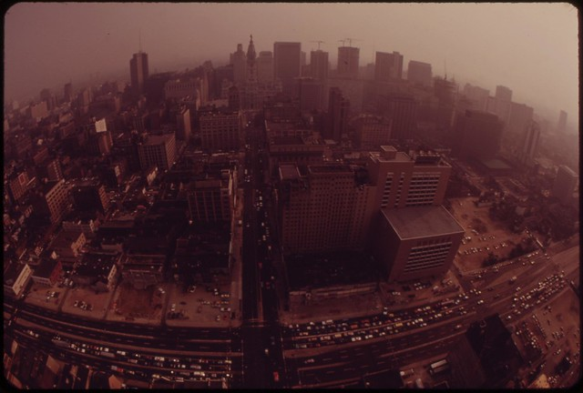 DOCUMERICA: Center City, Philadelphia, August 1973 by Dick Swanson.