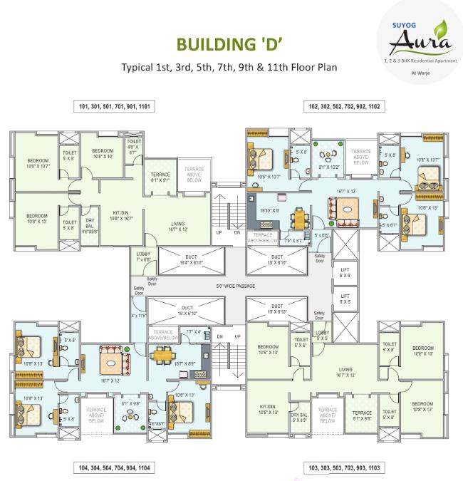 Suyog-Aura-Warje-Pune-D-Building-Odd-Floors-