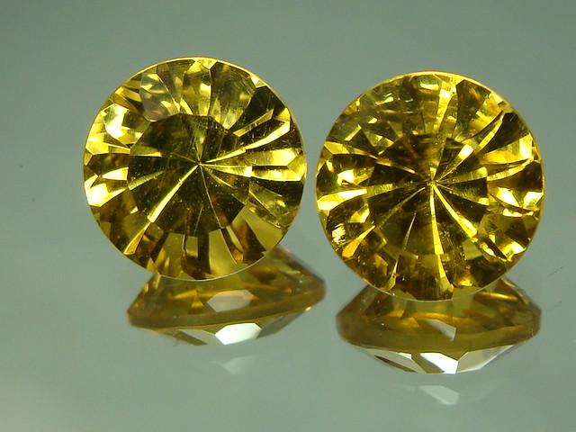 Brazilian golden beryl 8mm SOLD