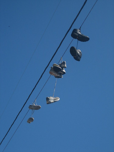 IMG_5106 Shoes on Wire