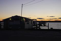 Solomons Boat Rental at dusk