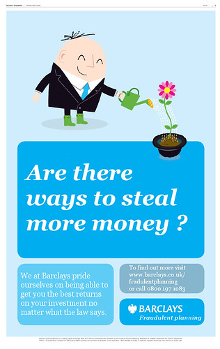 Are there ways to steal money we haveý thought of yet? - Barclays are working on it. by Teacher Dude's BBQ