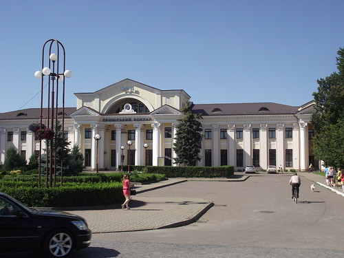 Bahnhof Chop (Ukraine) national