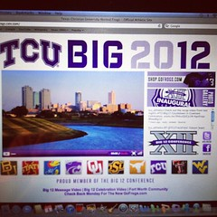 July 1, 2012 - finally a #Big12 member #gofrogs #bleedpurple