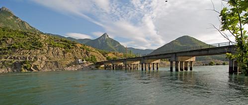 lake bike bicycle ferry mediterranean albania fahrrad balkan koman hydropower mittelmeer albanien