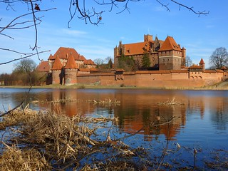 Malbork castle in Poland