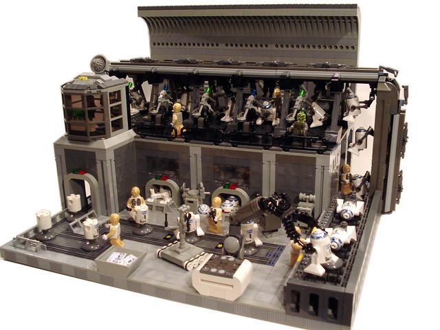 Droids Building Droids