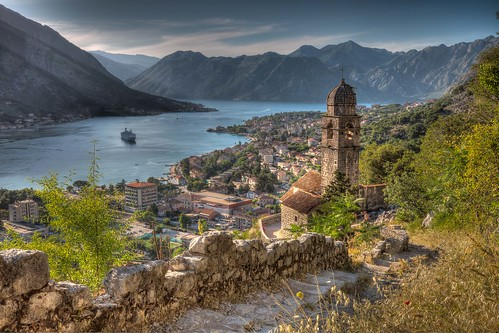 View Of Kotor , Montenegro