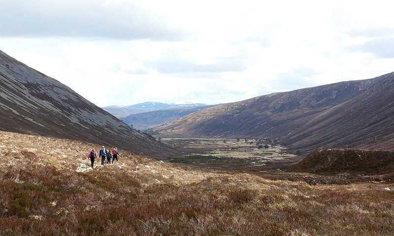 Heading through Glen Derry