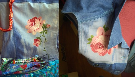 Amongst other things, a nice roses themed denim jacket.