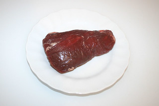 01 - Zutat Rinderfilet / Ingredient fillet of beef