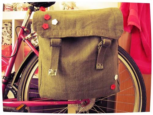 DIY pannier bag