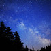 Milky Way and Shooting Stars in Adirondacks