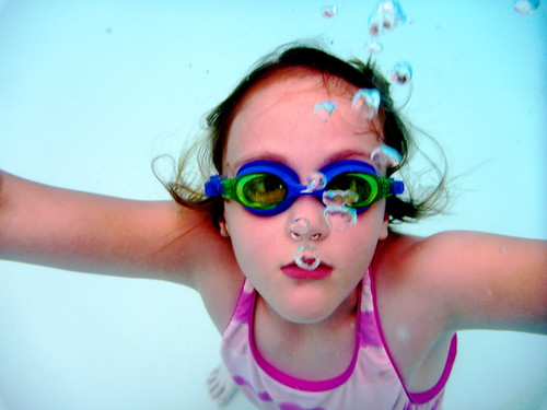 Butterfly Underwater