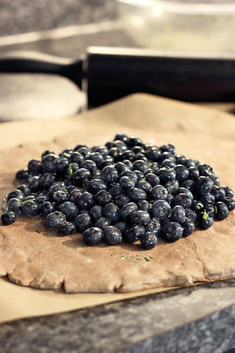 Blueberry Rosemary Multi-grain Galette