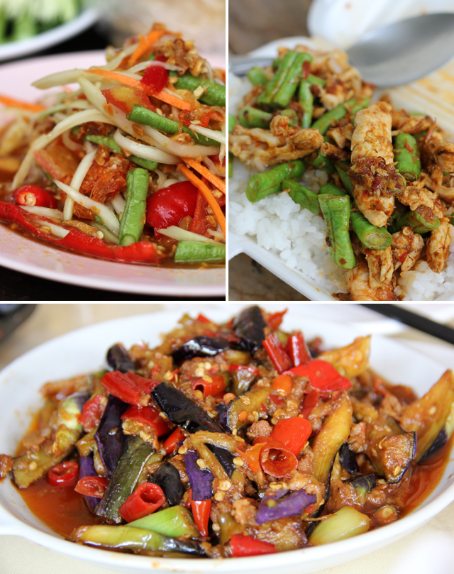 A few more dishes that are wholly enhanced by chili peppers
