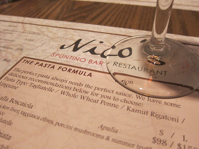 Nico's Spuntino Bar + Restaurant
