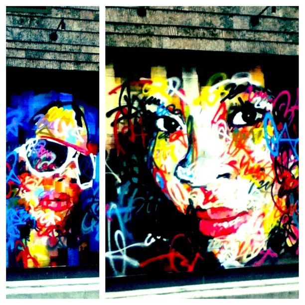 Street art in Bethesda