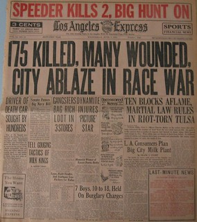 Tulsa race riot of 1921 essays