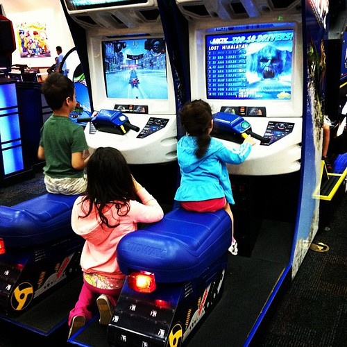 Chucky Cheese today...when does school start back up again?