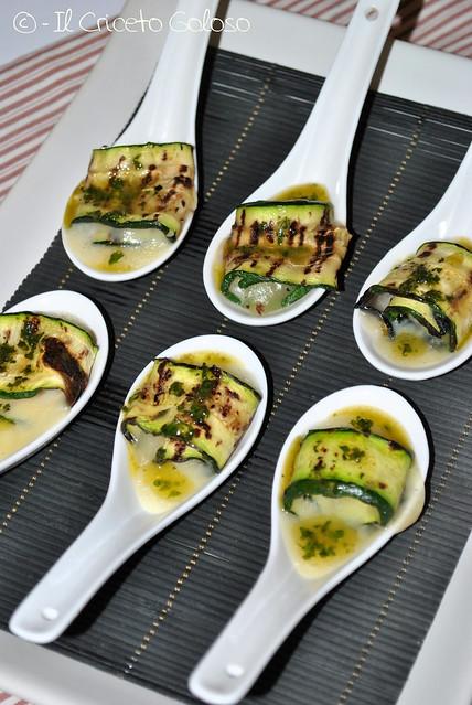 Rotolini di zucchine alla losa di capra 1