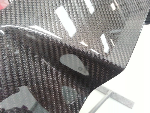 Clear Coating Carbon parts