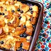 Peach & Blueberry Bread Pudding