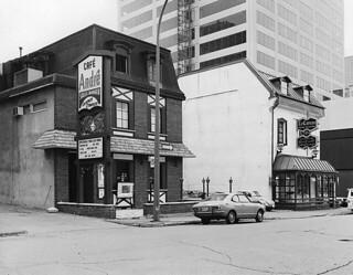 Café André, Victoria Street, Montreal, QC, 1973