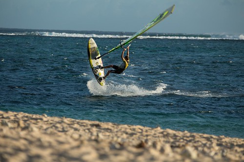 What to do in Mauritius; enjoy water sports in Black River