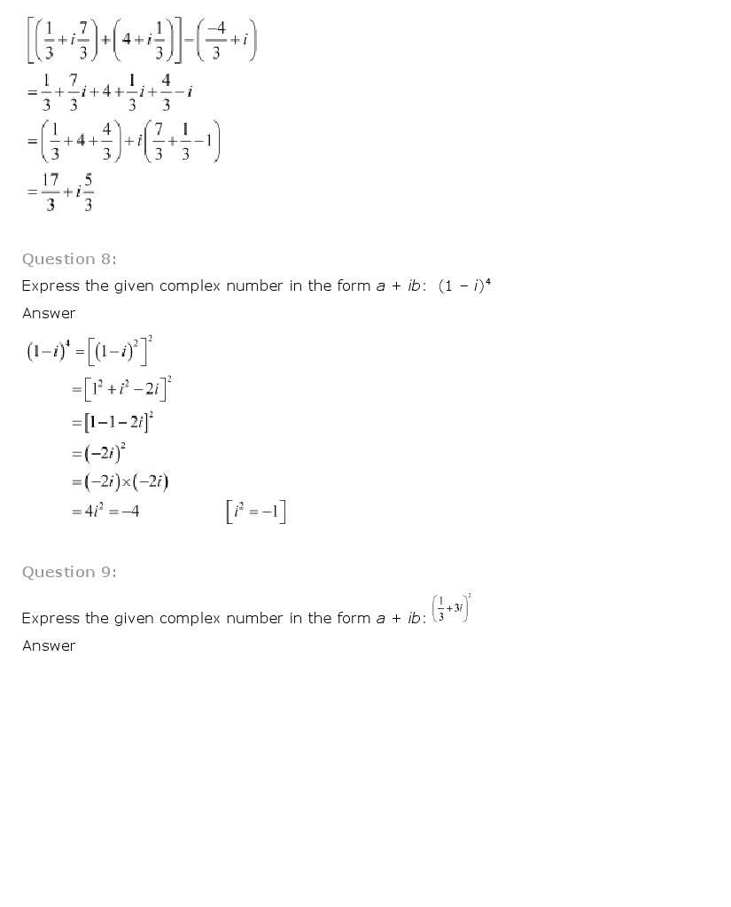Ncert solutions for class 11th maths chapter 5 complex numbers and ncert solutions for class 11th maths chapter 5 complex numbers and quadratic equations pdf download mathematics fandeluxe Choice Image