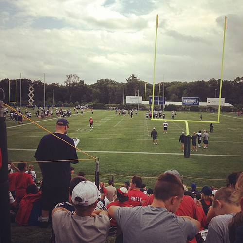 My summer playground #patriotstrainingcamp #patriots