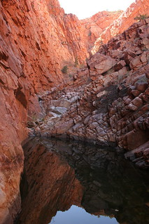 MacDonnell Ranges Gorge