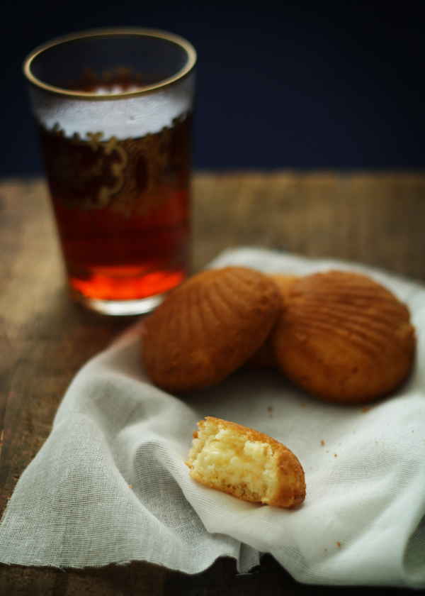 Gluten Free Custard Filled Madeleines