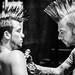 Asbury Park Tattoo Festival - Mohawks by Bob Jagendorf