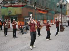 Arbat Street - Musiciens en spectacle