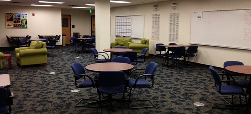 UNC Athletics study lounge