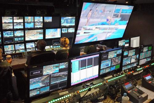 3D control room - London 2012 Olympics by Simple Simon ®