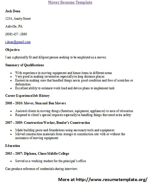 experiential training application letter