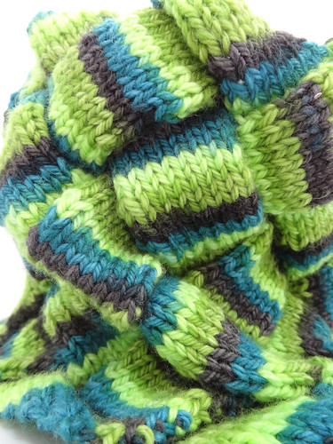 Entrelac Neck Warmer 05