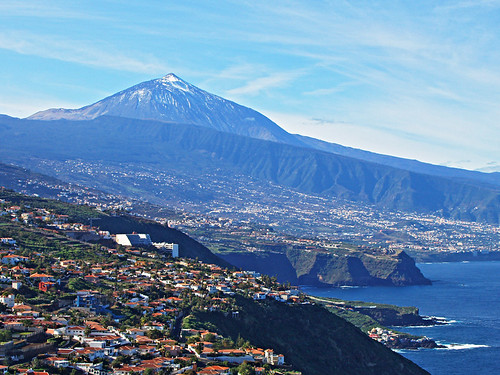 Mount Teide from El Sauzal, Tenerife