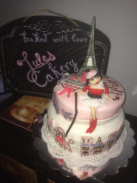 Love France Cake by Iulia Maria Cujba of Jules Cakery
