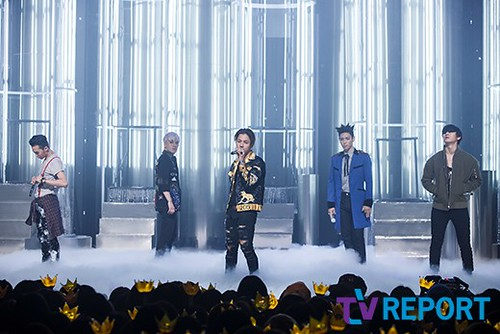 Big Bang - Mnet M!Countdown - 07may2015 - TV Report - 01