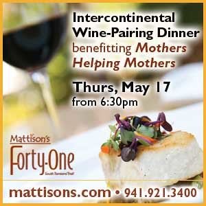 Chef Paul Mattison and Mothers Helping Mothers Intercontinental Wine Pairing Dinner in Sarasota, Florida
